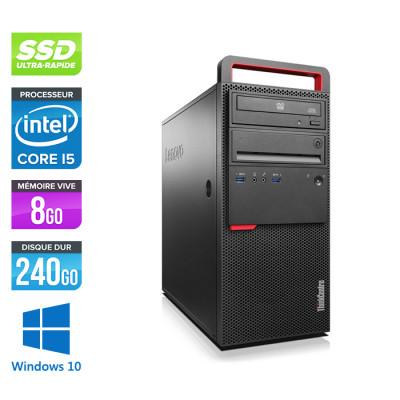 Lenovo ThinkCentre M800 Tour - i5 - 8Go - 240Go SSD - Windows 10