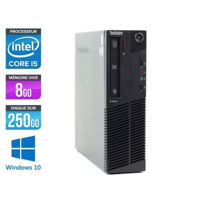 Lenovo ThinkCentre M92P SFF - i5 3470 - 8 Go - HDD 250 Go - Windows 10