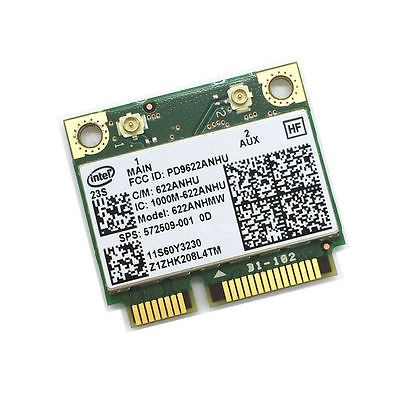 Carte WIFI INTEL Centrino Advanced-N - 6200