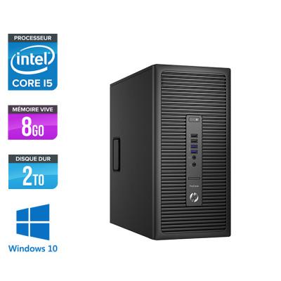 HP ProDesk 600 G2 Tour - i5-6500 - 8Go DDR4 - 2To - Windows 10