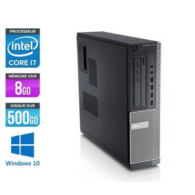 Ordinateur de bureau - Dell Optiplex 790 Desktop reconditionné - Intel Core i7 - 8Go - 500Go HDD - Windows 10
