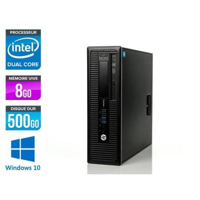 HP 600 G1 SFF - G3220 - 8Go - 500Go HDD -W10