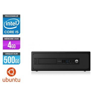 HP 600 G1 SFF - i5 - 4Go - 500Go HDD - Ubuntu / Linux