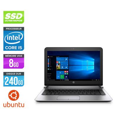 Pc portable reconditionné HP ProBook 430 G3 - i5 - 8Go - 240Go SSD - Ubuntu / Linux - Trade Discount