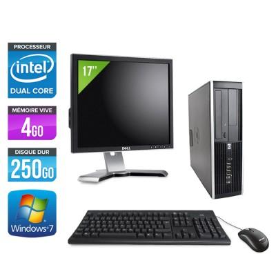 HP Elite 8100 -G6950 - 4Go - 250Go HDD - W7 +Ecran 17''