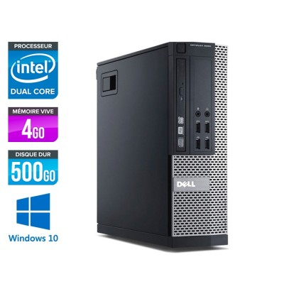 Pc bureau reconditionné - Dell Optiplex 7020 SFF - Intel Pentium G3240 - 4go - 500go - hdd - windows 10