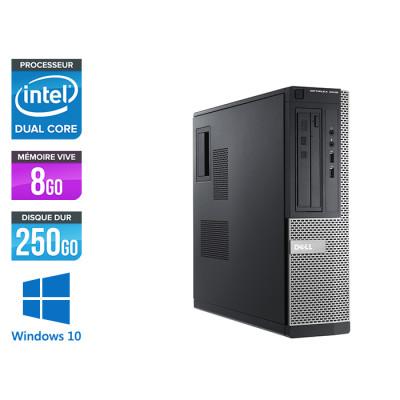Pc bureau reconditionné - Dell Optiplex 3010 DT - G640 - 4Go - 250 Go HDD - Windows 10