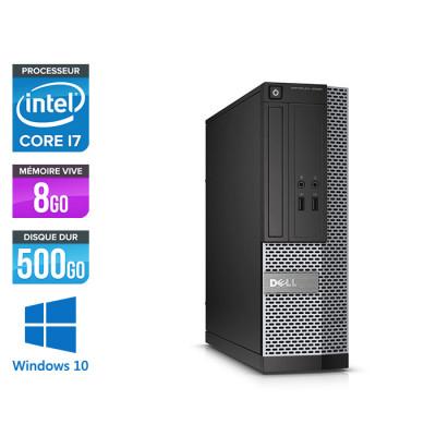 Pc bureau reconditionné - Dell Optiplex 3020 SFF - i7 - 8Go - 500Go - W10
