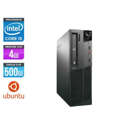 Lenovo ThinkCentre M81 SFF - Intel Core i5 - 4Go - 500Go HDD - Linux