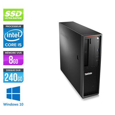 Lenovo P310 reconditionné - Core i7 - 8Go - 240 Go SSD - GT 1030 - Windows 10
