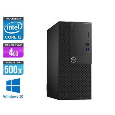 Pc de bureau Dell 3050 Mini Tour - Intel Core i3 6100 - 4Go - 500Go HDD - W10