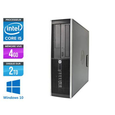 HP 6300 Pro SFF - i5 - 4 Go- 2To HDD - Windows 10
