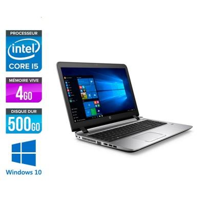 HP 450 G2 - i5 - 4Go - 500Go HDD -15.6'' - Win10