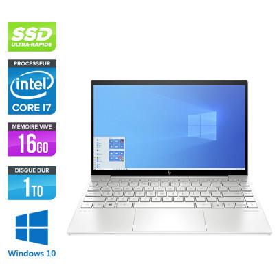 Pc portable reconditionné HP 13-ba0018nf - i7-10510U - 16Go - 1To SSD - Nvidia MX350 - Windows 10
