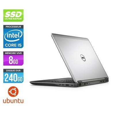 Pc portable reconditionné - Dell Latitude E7240 - Core i5 - 8Go - 240Go SSD - Linux