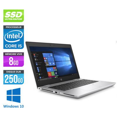 Pc portable - HP ProBook 640 G5 reconditionné - i5 8365U - 8Go - SSD 256Go - 14'' FHD - Windows 10