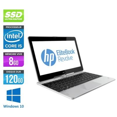 Ultrabook - Pc portable - HP Elitebook 810 G2 reconditionné - i5 4300U - 8Go - 120 Go SSD - Windows 10