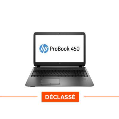Pc portable HP Probook 450 G0 reconditionné - Déclassé