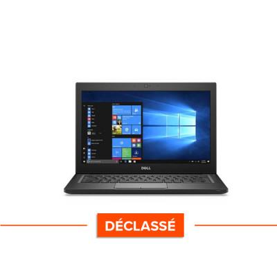 Pc portable - Ultraportable reconditionné - Dell Latitude 7280 - i5 - 8Go - 240Go SSD - Windows 10 - déclassé