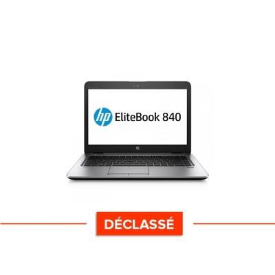 Ordinateur portable reconditionné - HP Elitebook 840 G3 - i7 - 8Go - SSD 120Go - 14'' - Windows 10 - Déclassé