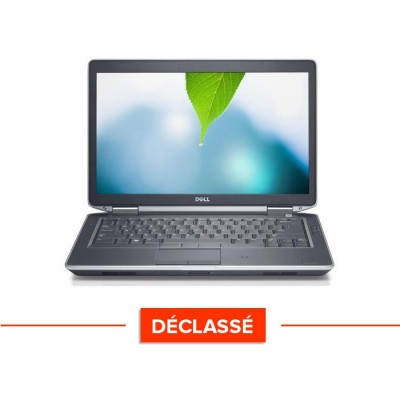 Pc portable - Dell Latitude E6440 - Trade Discount - Déclassé - i5 4300M - 8Go - 320Go HDD - Webcam - Windows 10