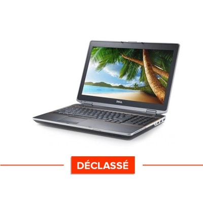 "Pc portable - Dell Latitude E6520 - Trade Discount - Déclassé - i5 - 4Go - 320Go HDD - 15,6"" - Sans Webcam - Windows 10"