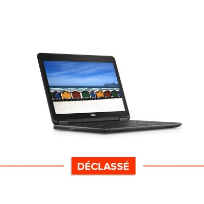 Pc portable - Dell E7240 - i5 - 8 Go - 120Go SSD - Windows 10 Famille - déclassé
