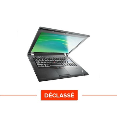 Pc portable - Lenovo ThinkPad L420 - Trade Discount - Déclassé - Core i5 - 4 Go - 320 Go HDD - Windows 10 Famille