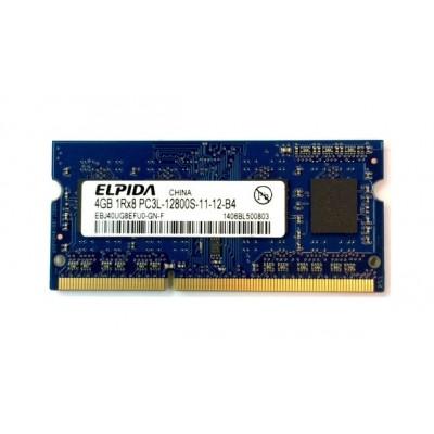 Mémoire Elpida So-DIMM DDR3 PC3L-12800S - 4 Go 1600 MHz