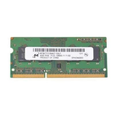 Mémoire Micron So-DIMM DDR3 PC3L-12800S - 4 Go 1600 MHz