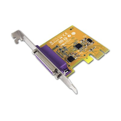 Port Parallele IEEE1284 - DB-25 - Carte PCI-E