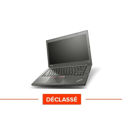 Ordinateur portable - Lenovo ThinkPad T450 - i5 5300U - 8Go - SSD 120Go - Windows 10 - déclassé