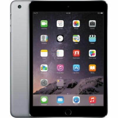 Tablette tactile reconditionné - IPad Mini 3 - Apple A7 - 7.9'' 2048 x 1536 (WXGA) - 1Go RAM - 64Go - Wifi - iOS - Gris