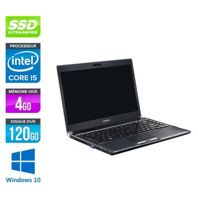 Toshiba Portégé R830 - i5 - 4Go - 120Go SSD - W10