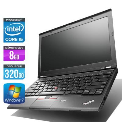 Lenovo ThinkPad X230 - Core i5-3320M - 8Go - 320Go
