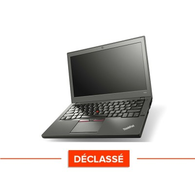 Lenovo ThinkPad X250 déclassé - i5 5300U - 4Go - 120 Go SSD - Windows 10