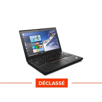 Ordinateur portable reconditionné - Lenovo ThinkPad X270 - i5 6300U - 8Go - 240 Go SSD - Windows 10 - Déclassé