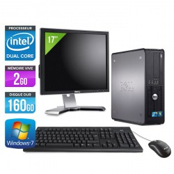 DELL OPTIPLEX 380 SFF + Ecran 17""