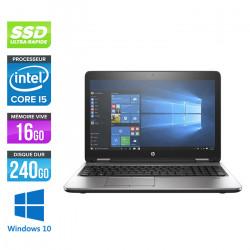 HP Probook 650 G3 - Windows 10