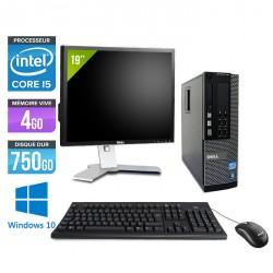 Dell Optiplex 7010 SFF - Windows 10 + Ecran 19''