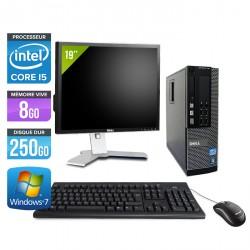 Dell Optiplex 7010 SFF + Ecran 19''