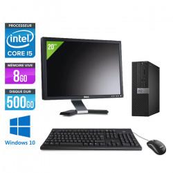 """Dell Optiplex 5040 SFF - Windows 10 + Ecran 20"""""""