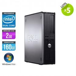 Lot de 5 Dell Optiplex 755 Desktop