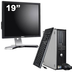 Dell Optiplex 760 Desktop + Ecran 19""