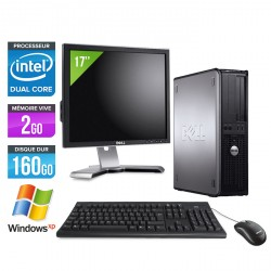 Dell Optiplex 760 Desktop + Ecran 17''