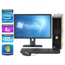 Dell Optiplex 780 Desktop + Ecran 20''