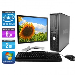 Dell Optiplex 780 Desktop + Ecran 17''