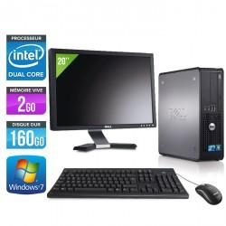 """Dell Optiplex 780 SFF + Ecran 20"""""""