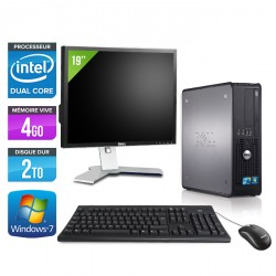 Dell Optiplex 780 SFF + Ecran 19""