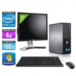 Dell Optiplex 780 SFF + Ecran 17""